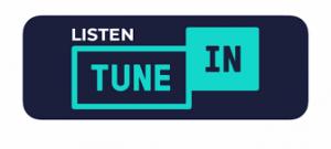 Tune In podcast button